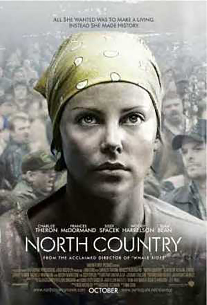 7. North Country (2005).