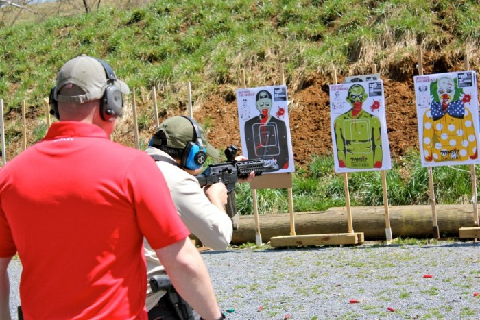 8.  And now it's time to get serious. Get your training at Northern Virginia Tactical in Winchester.