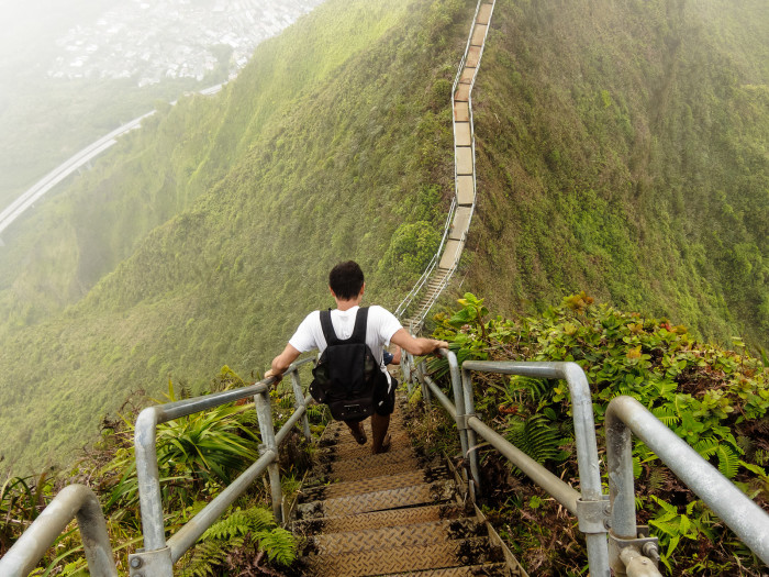 """8) Not only is the """"Stairway to Heaven"""" extremely illegal, but it is also wildly dangerous, and should not be attempted. Ever."""
