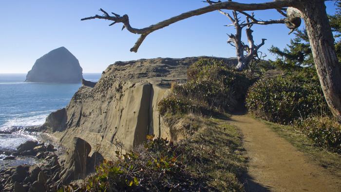 4) Oregon Coast Trail