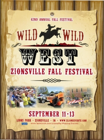 6. 62nd Annual Zionsville Lion's Club Fall Festival in Boone County on Friday, September 11, 2015, 8:00 AM