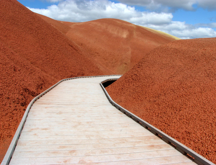 5) The Painted Cove Trail at the John Day Fossil Beds National Monument