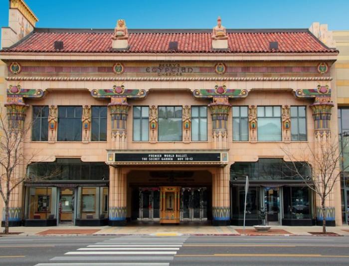 10) Peery's Egyptian Theater, Ogden