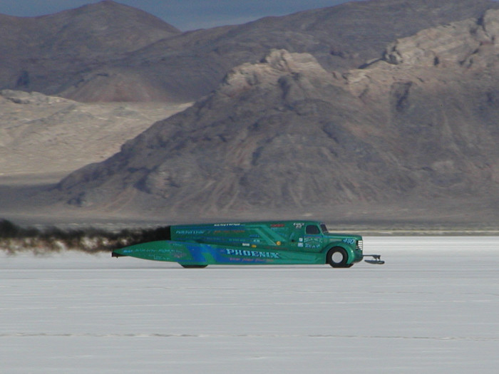 13) We Broke the Land Speed Record