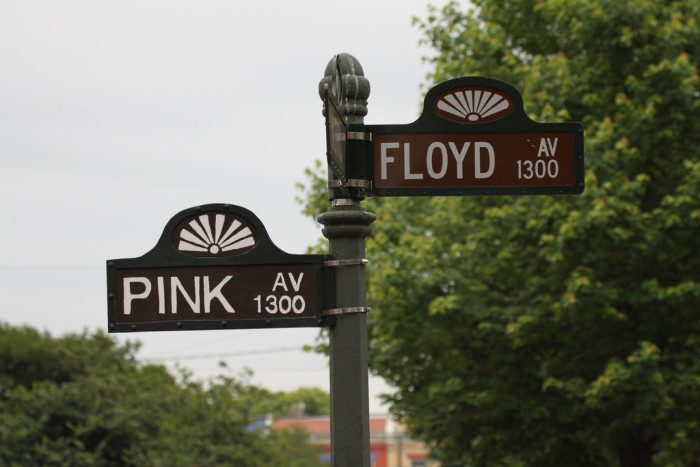 5. The Corner of Pink and Floyd, Richmond