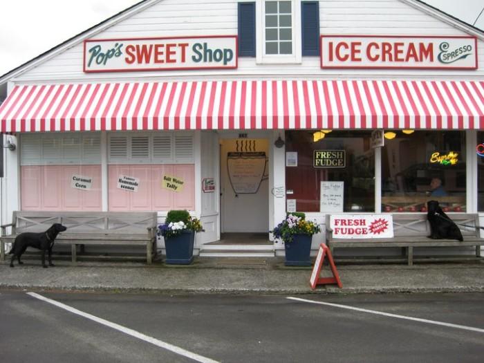 3) Pop's Sweet Shop, Gearhart