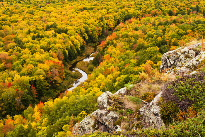 7) Porcupine Mountains State Park