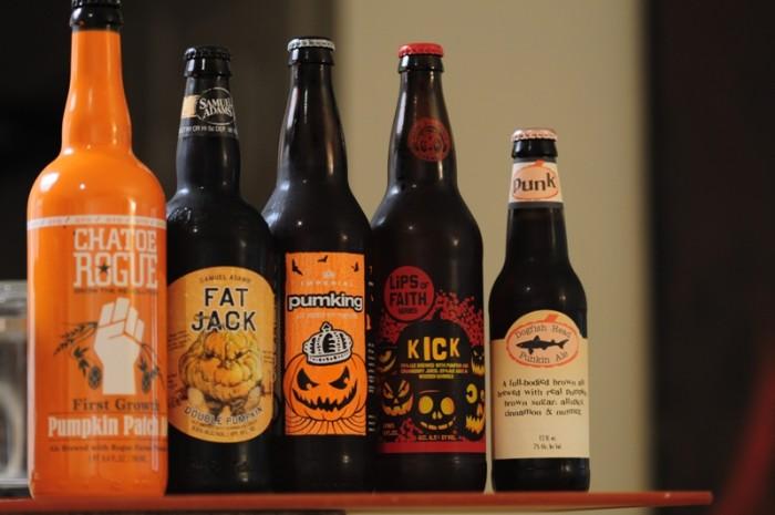 3. Pumpkin Flavored Beer Appears