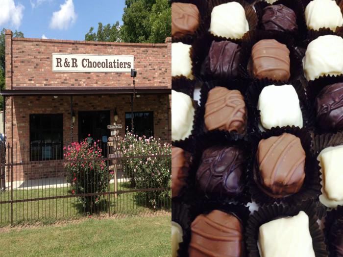 6) R & R Chocolatiers