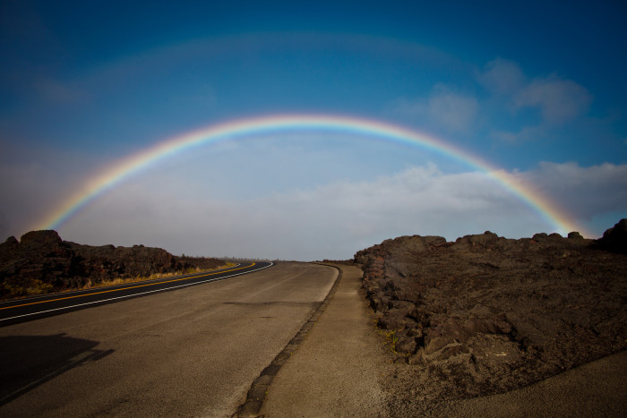 13) Wait ten minutes – because when it's not hurricane season, you can bet that the rain will let up pretty quickly, a rainbow will appear, and you can get back to whatever outdoor activity you had previously planned.