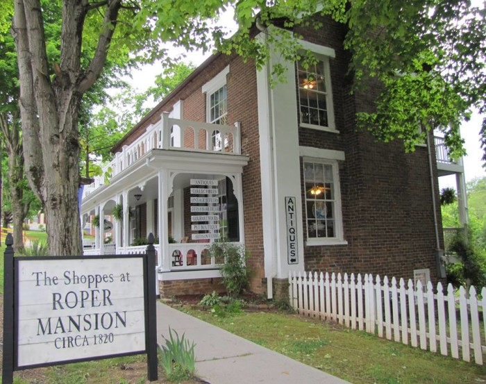 1) The Shoppes at Roper Mansion - Dandridge