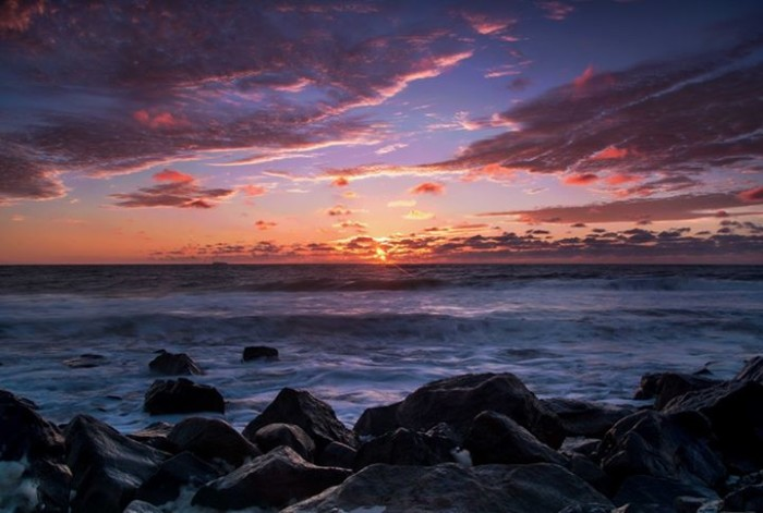 1. The first sunrise of fall, taken in Sandy Hook by Stanley Kosinski.