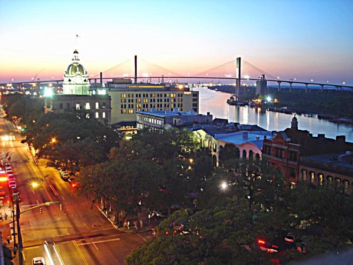 3. Savannah - Population 142,722