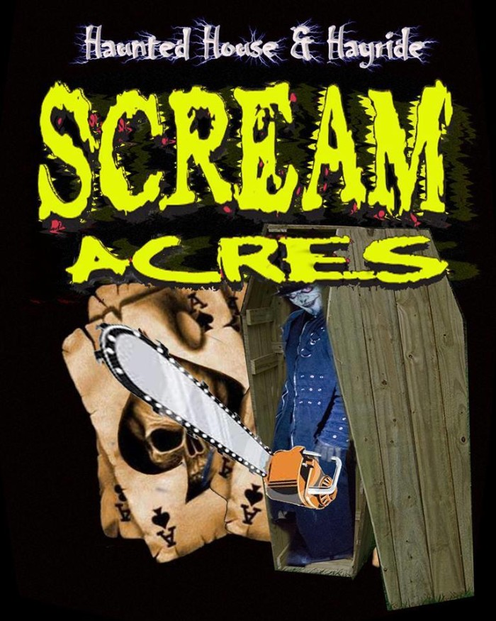 1. Scream Acres, 1283 Old Camden Rd Bishopville