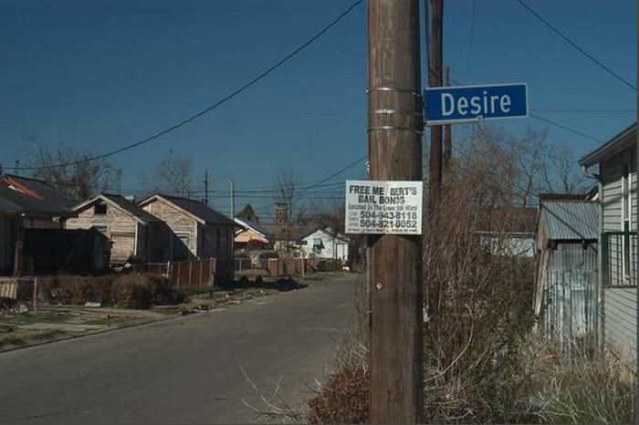 10) Desire St., New Orleans