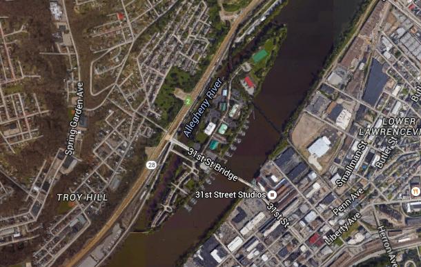 5. Washington's Landing in Pittsburgh