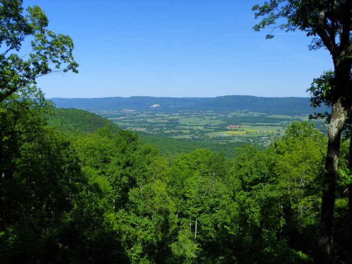 2) Our views are the greatest in the country - check out the Sequatchie Valley!