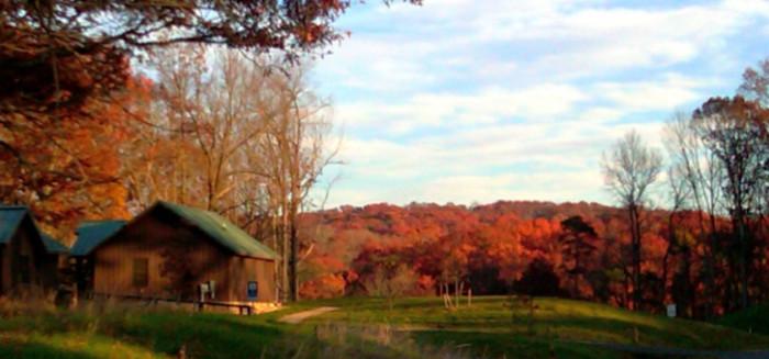 Shenandoah River State Park cabin