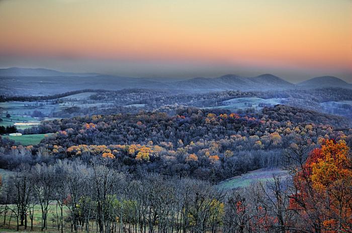 Sky Meadows valley