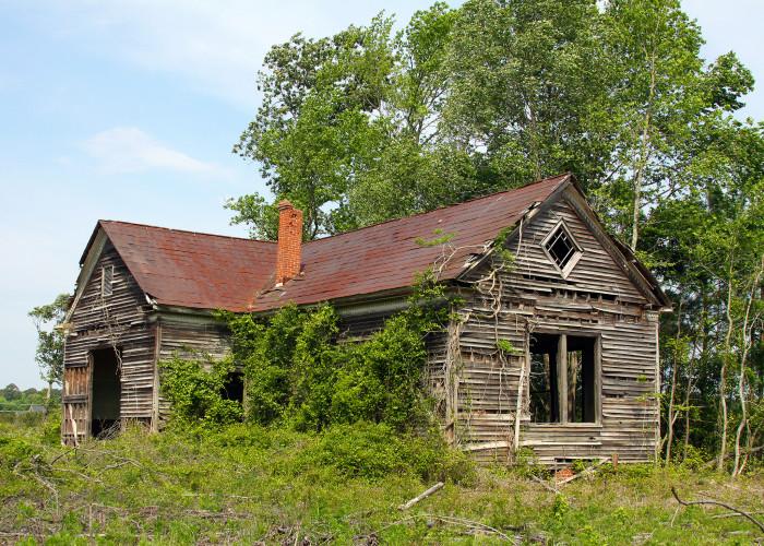 7. Empty Schoolhouse in Smithfield