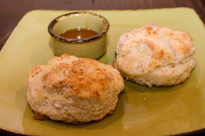 5. Sorghum on a Biscuit