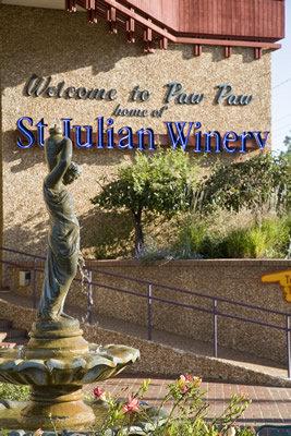 2) St. Julian Winery, Paw Paw