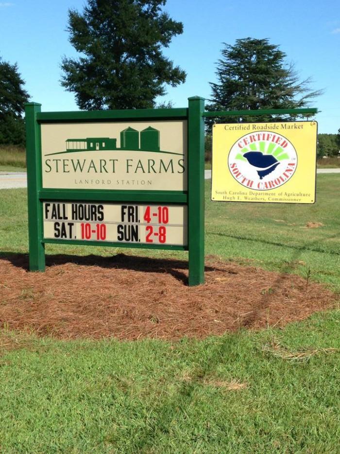 10. Stewart Farms
