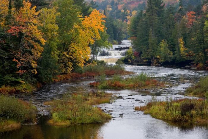 6) Tahquamenon Falls State Park and Campground