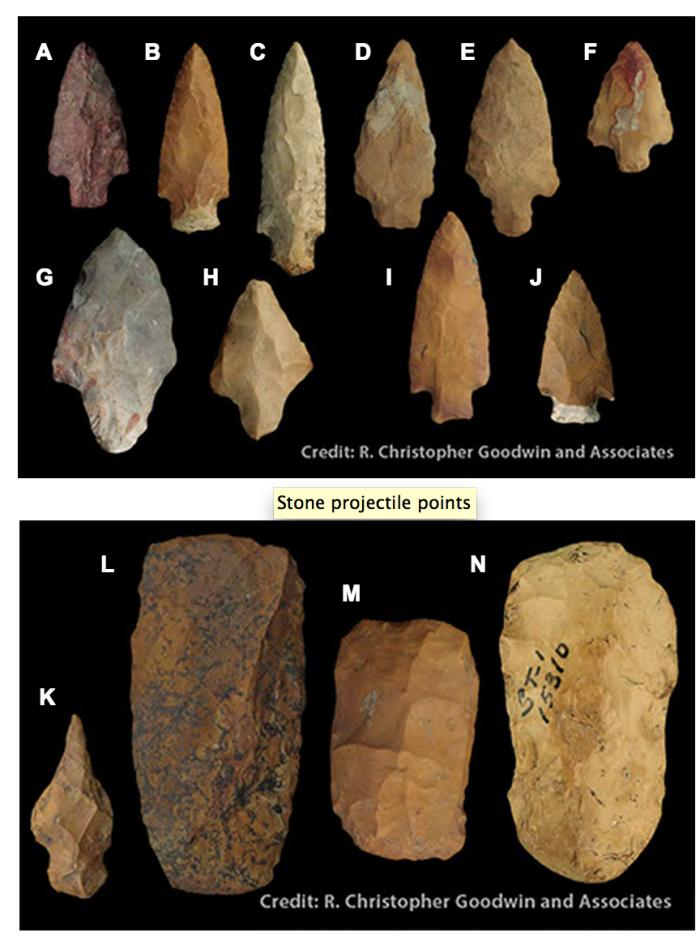 3) Tchefuncte 600 B.C. – 200 B.C.