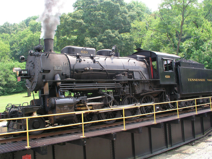 1) Tennessee Valley Railroad