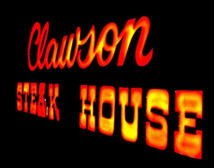 1) The Clawson Steak House, Clawson