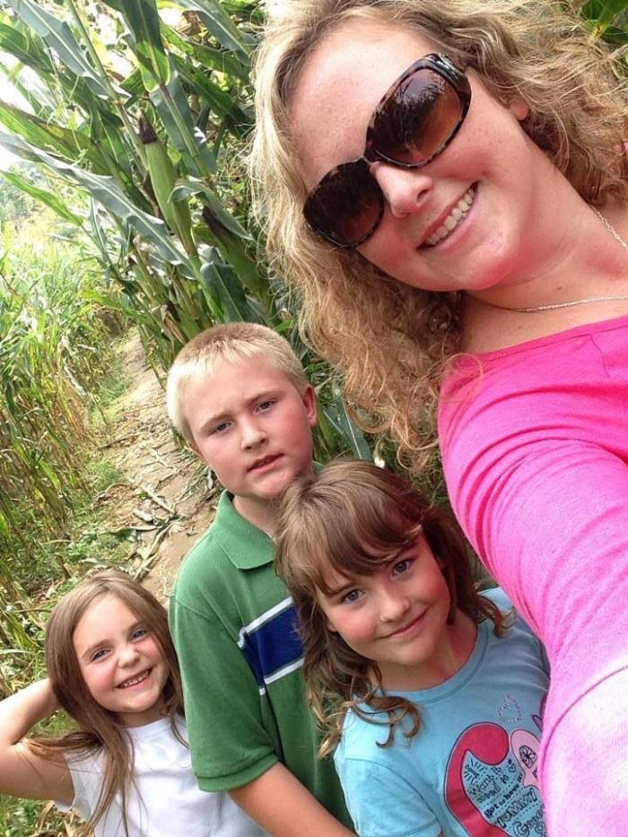12. The Corn Maze at Cooper Family Farms of Milton
