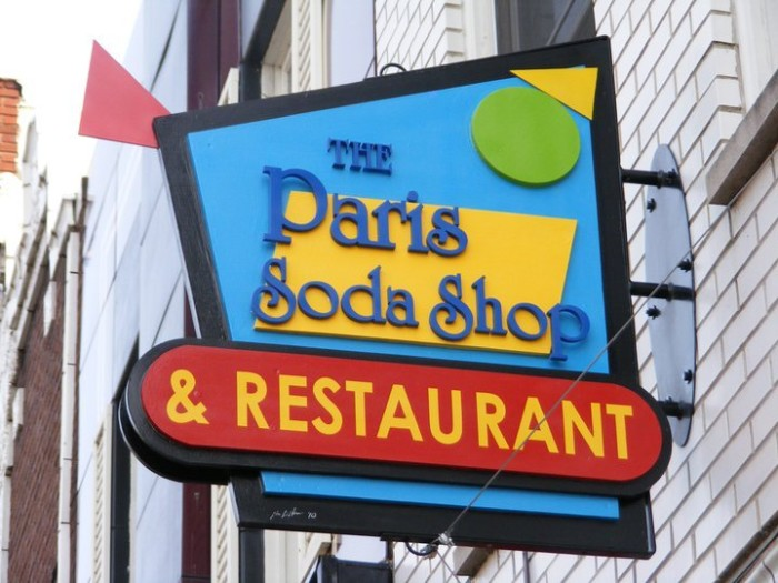 1) The Paris Restaurant & Soda Shop, Niles