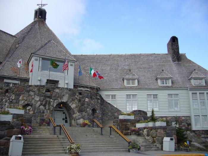 1) The Shining, Timberline Lodge, Mt. Hood