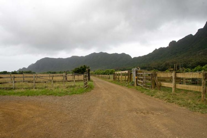 5) There's nothing quite like a drive down a dirt road leading to a family farm, is there?