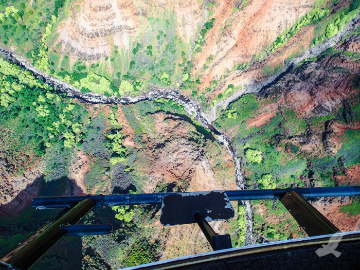 2) This birds eye view of Waimea Canyon has my heart racing – and it's just a photograph!