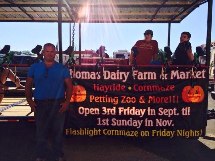 3) Thomas Dairy Farm Zombie Paint Ball