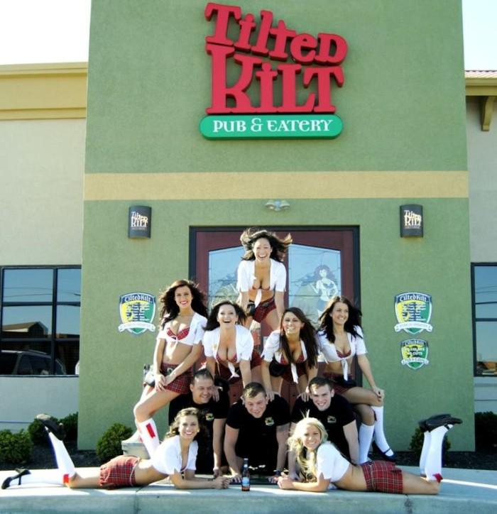 1) Tilted Kilt Pub and Eatery