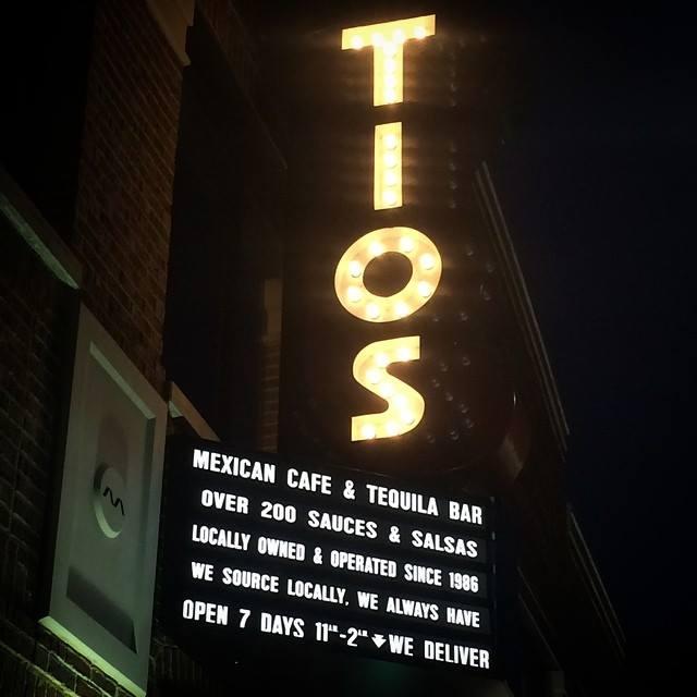 3) Tio's Mexican Cafe, Ann Arbor