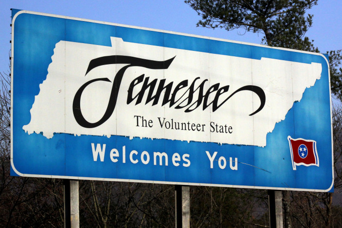 2) It's the Volunteer State