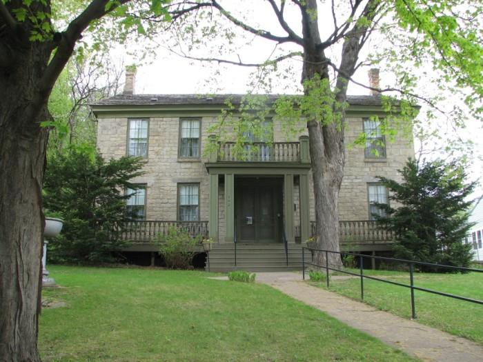 7. The Warden's House, Stillwater.