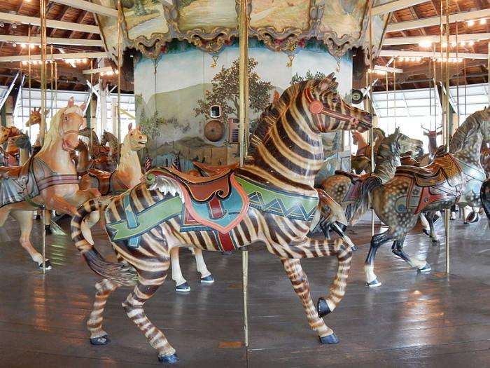 2. Weona Park Carousel, Pen Argyl