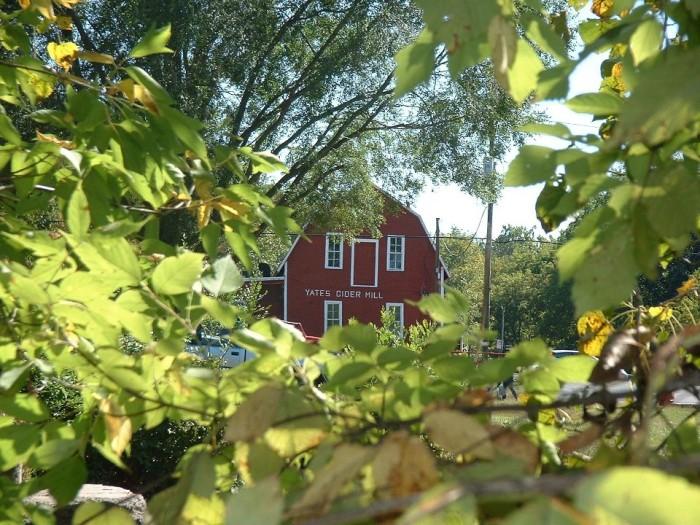 5) Yates Cider Mill, Rochester Hills