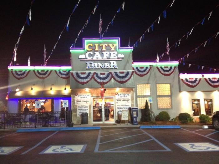 10. City Cafe Diner - Huntsville, AL