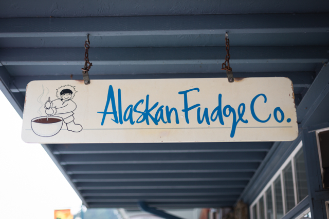5) The Alaskan fudge Co.