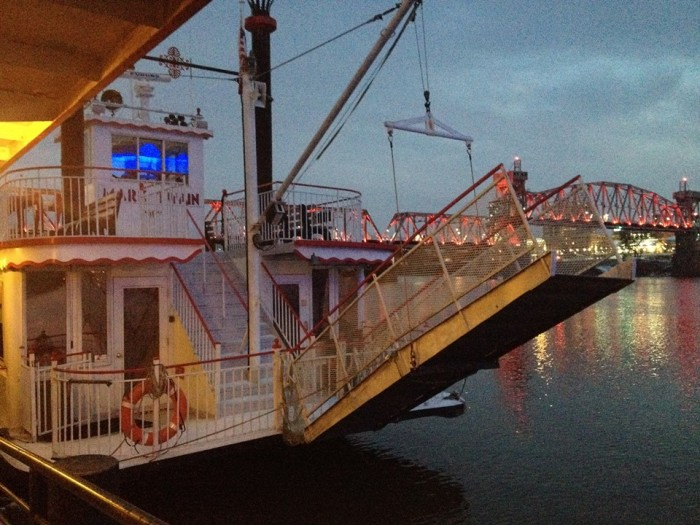 2. Get Fancy With A Riverboat Cruise