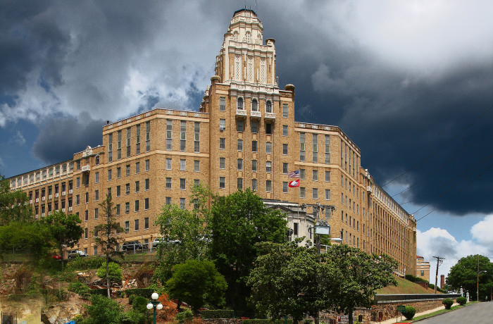 5. Hot Springs: The Old Army Navy Hospital