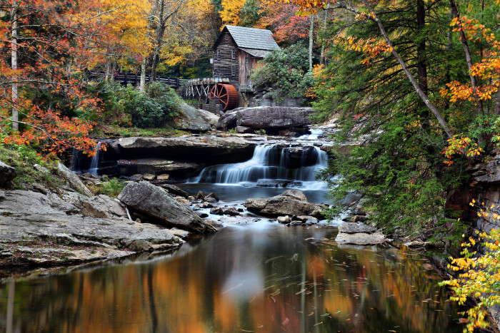 10. Babcock State Park