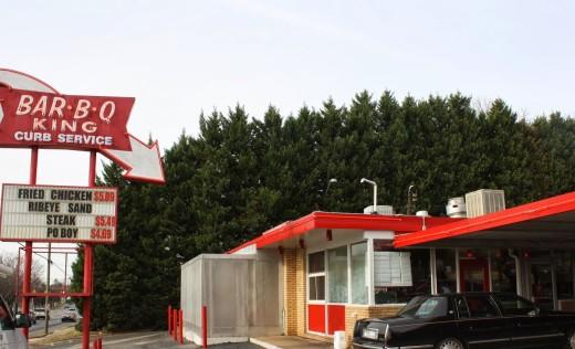 7. Bar-B-Q King Drive In, Charlotte