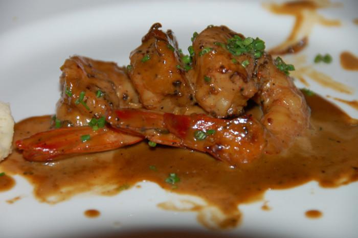 10) Shrimp & BBQ Sauce